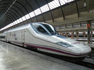 القطار السريع إسبانيا